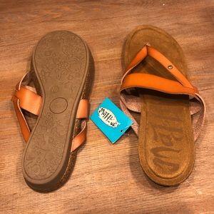 Mad Love Brown Sandals